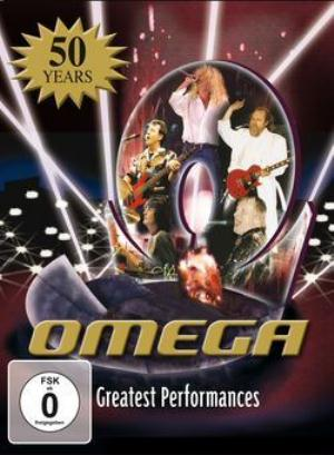 Omega (hr) - Greatest Performances - 50 Years DVD (album) cover