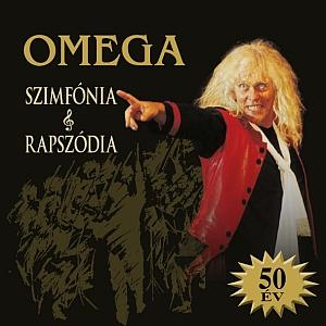 Omega (hr) - Szimfónia & Rapszódia CD (album) cover
