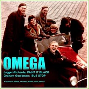 Omega (hr) - Paint It Black / Bus Stop CD (album) cover
