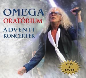 Omega (hr) - Oratórium - Adventi Koncertek CD (album) cover