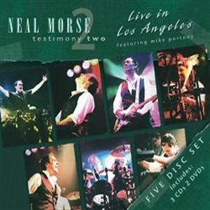 Neal Morse - Testimony Two - Live In Los Angeles CD (album) cover
