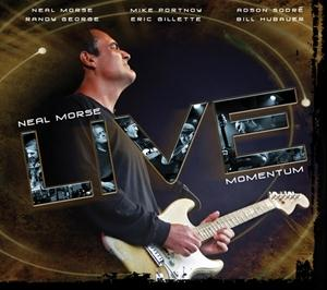 NEAL MORSE - Live Momentum CD (album) cover