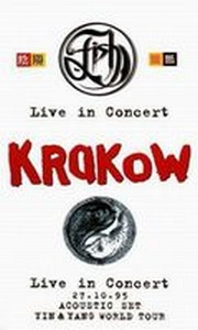 Fish - Krakow - Acoustic Set 1995 DVD (album) cover