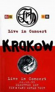 Fish - Krakow - Electric Set 1995 DVD (album) cover