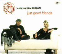 Fish - Just Good Friends CD (album) cover