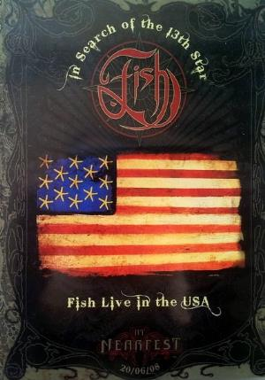 Fish - In Search Of The 13th Star - Fish Live In The Usa DVD (album) cover