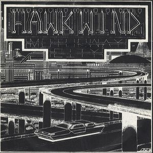 Hawkwind - Motorway City CD (album) cover