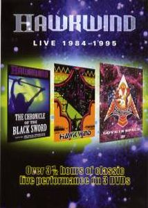 Hawkwind - Live 1984 - 1995 DVD (album) cover