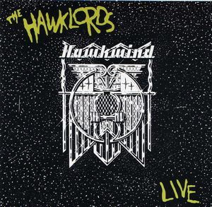 Hawkwind - The Hawklords Live CD (album) cover