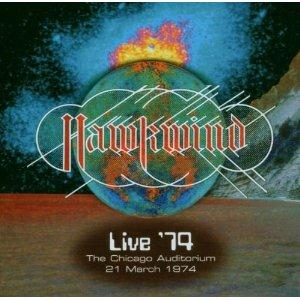 Hawkwind - Live ´74 The Chicago Auditorium 21 March 1974 CD (album) cover