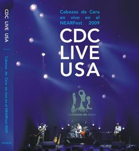 Cabezas De Cera - Cdc Live Usa DVD (album) cover