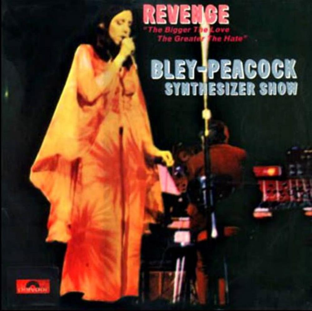 Annette Peacock - Revenge: The Bigger The Love The Greater The Hate CD (album) cover