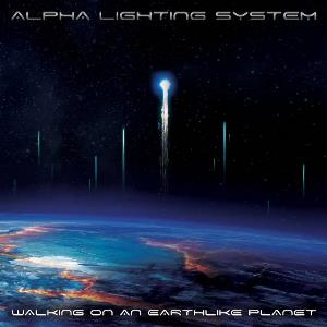 Alpha Lighting System - Walking On An Earthlike Planet CD (album) cover