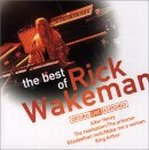 RICK WAKEMAN - The Best Of Rick Wakeman (original Live Recordings) CD album cover