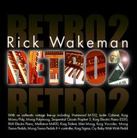 Rick Wakeman - Retro 2 CD (album) cover