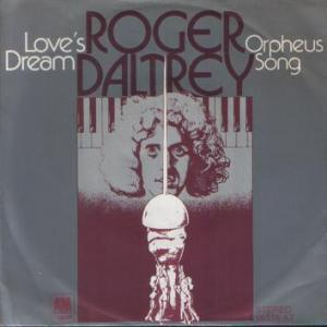 Rick Wakeman - Love's Dream (with Roger Daltrey) CD (album) cover
