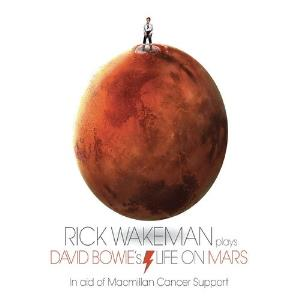 Rick Wakeman - Life On Mars CD (album) cover