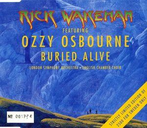 Rick Wakeman - Buried Alive Feat. Ozzy Osbourne CD (album) cover