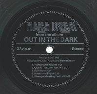 Flame Dream - Out In The Dark CD (album) cover