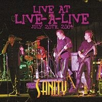 Sanity - Live-a-live Radio Show CD (album) cover