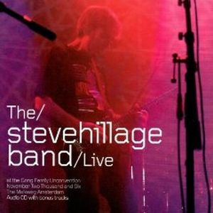 Steve Hillage - Live At The Gong Unconvention DVD (album) cover