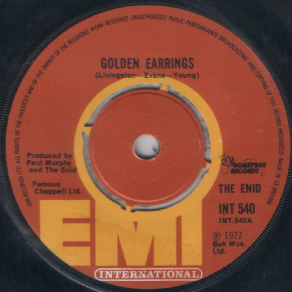 The Enid - Golden Earrings CD (album) cover