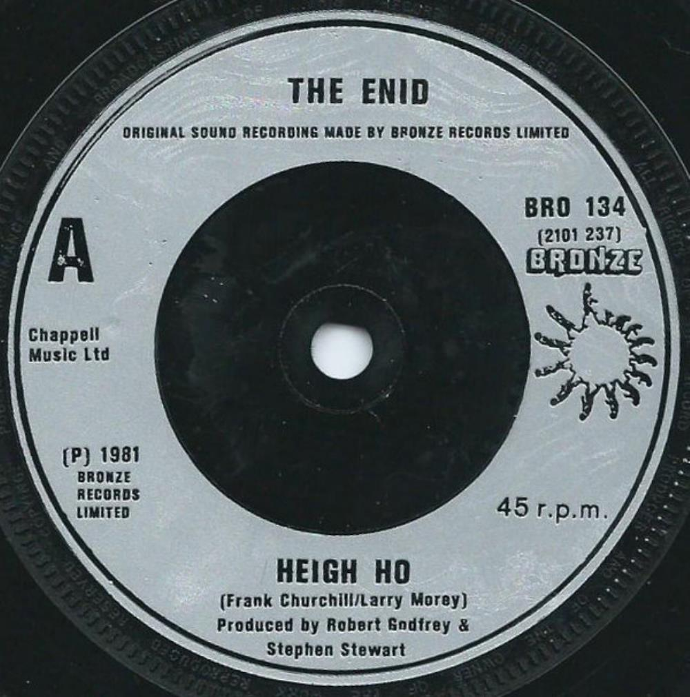 The Enid - Heigh Ho CD (album) cover