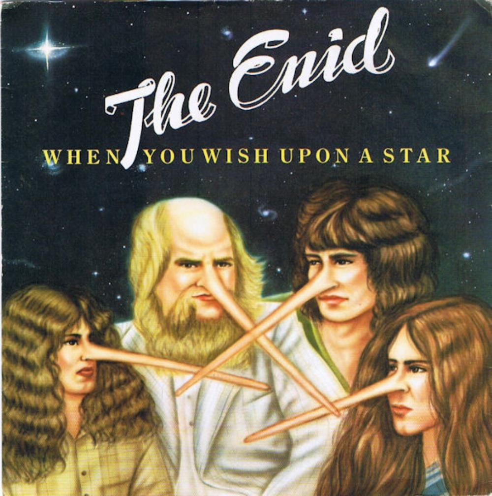 The Enid - When You Wish Upon A Star CD (album) cover
