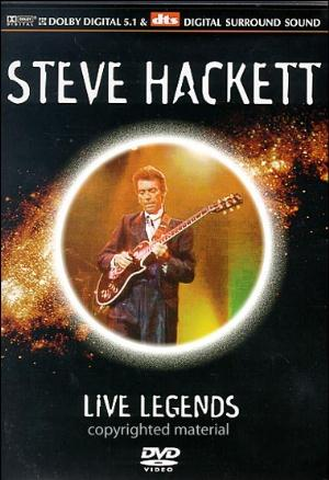 Steve Hackett - Live Legends DVD (album) cover