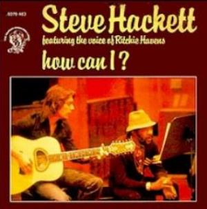 Steve Hackett - How Can I? CD (album) cover