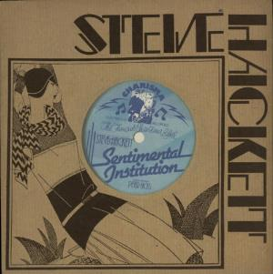 Steve Hackett - Sentimental Institution CD (album) cover