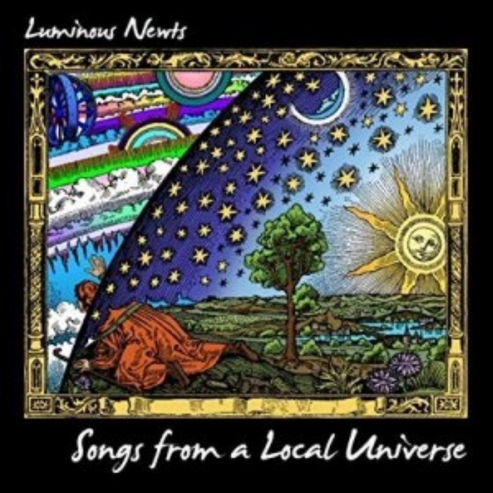 Luminous Newts - Songs From A Local Universe CD (album) cover