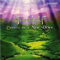 Gandalf - Colors Of A New Dawn CD (album) cover
