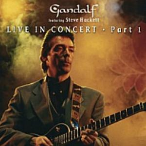 Gandalf - Gandalf Featuring Steve Hackett - Gallery Of Dreams Live (part 1) CD (album) cover