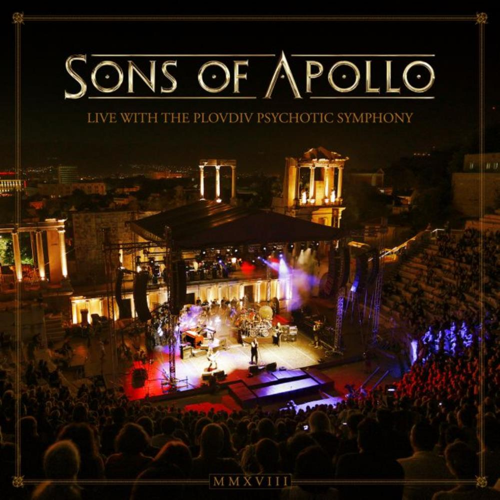 Sons Of Apollo - Live With The Plovdiv Psychotic Symphony CD (album) cover
