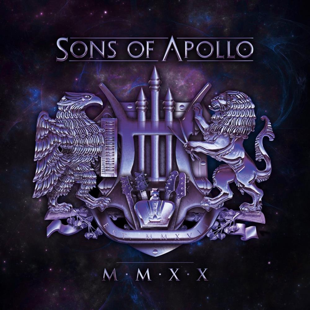 Sons Of Apollo - Mmxx CD (album) cover