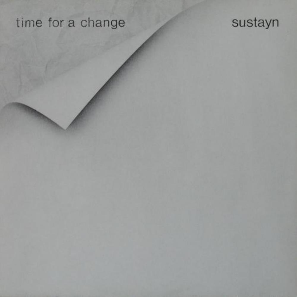 Sustain - Time For A Change (as Sustayn) CD (album) cover