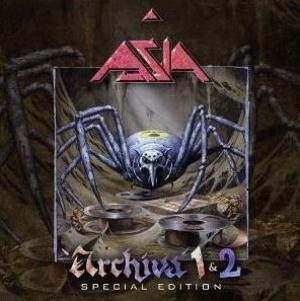 Asia - Archiva 1 & 2 CD (album) cover