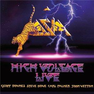 Asia - High Voltage: Live CD (album) cover