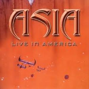 Asia - Live In America CD (album) cover