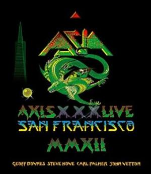 Asia - Axis Xxx Live In San Francisco CD (album) cover