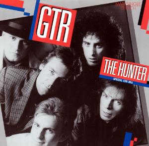 Gtr - The Hunter CD (album) cover