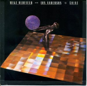 Jon Anderson - Shine - Mike Oldfield With Jon Anderson CD (album) cover