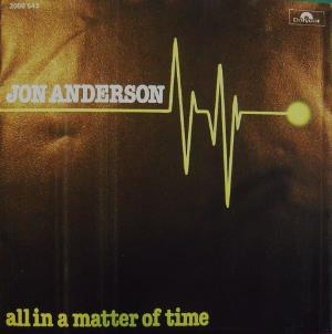Jon Anderson - All In A Matter Of Time CD (album) cover