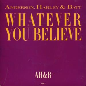Jon Anderson - Whatever You Believe CD (album) cover