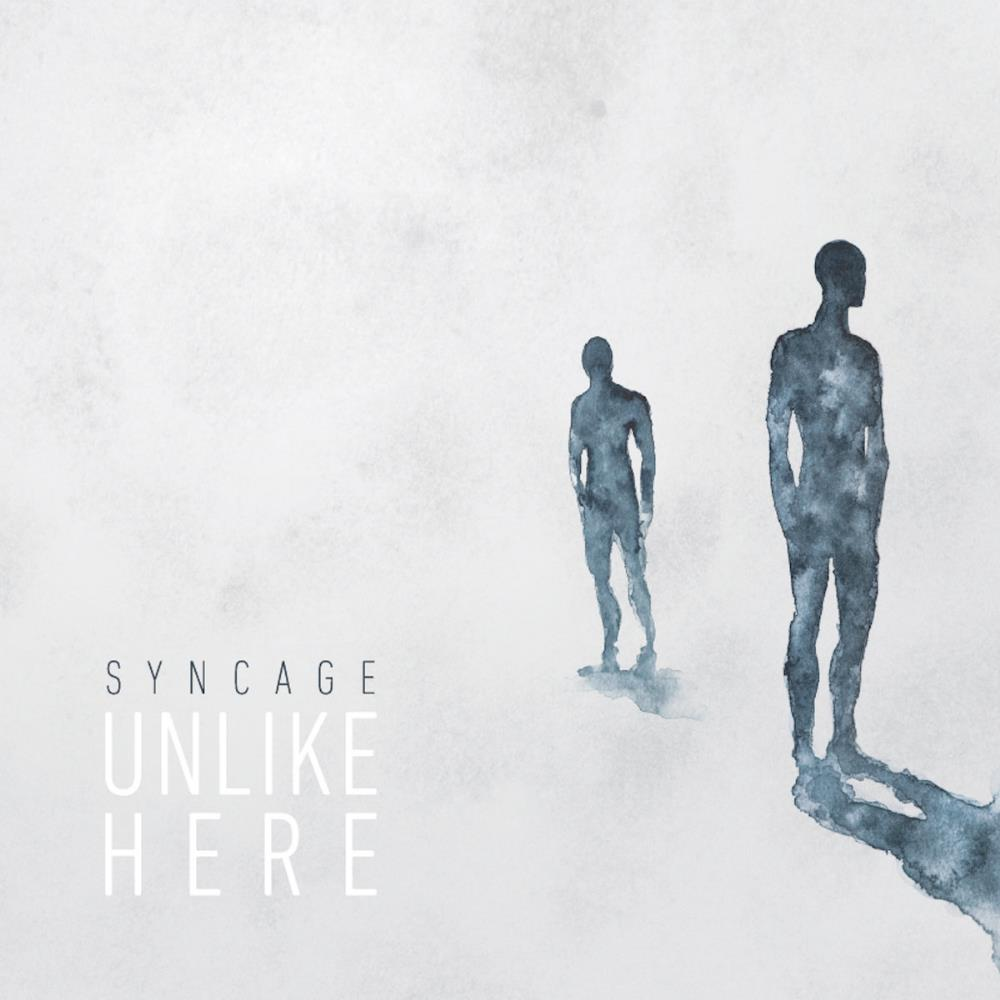 Syncage - Unlike Here CD (album) cover