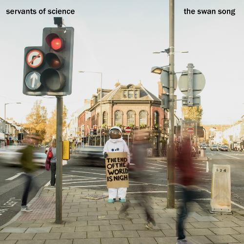 Servants Of Science - The Swan Song CD (album) cover