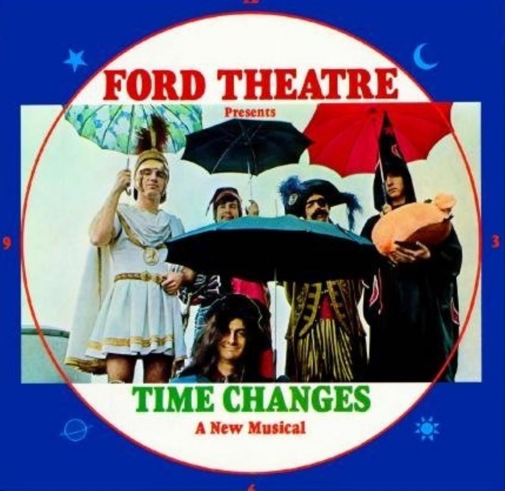 Ford Theatre - Time Changes CD (album) cover