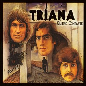 TRIANA - Quiero Contarte CD album cover