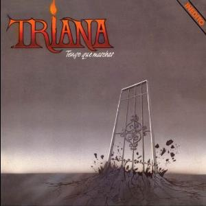 TRIANA - Tengo Que Marchar CD album cover
